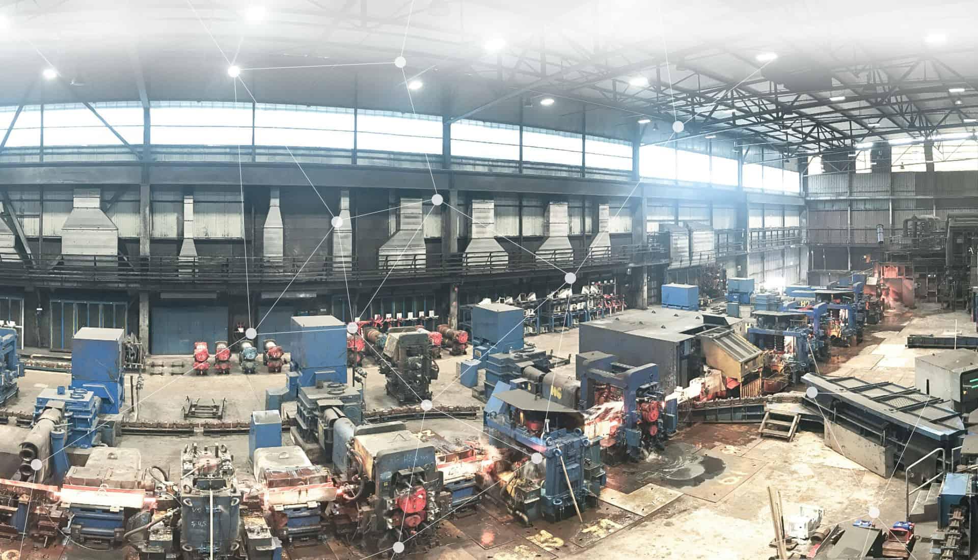 elektroplanung sanierung led beleuchtung gebauedeautomation energieeffizienz walzwerk swiss steel elmaplan ag