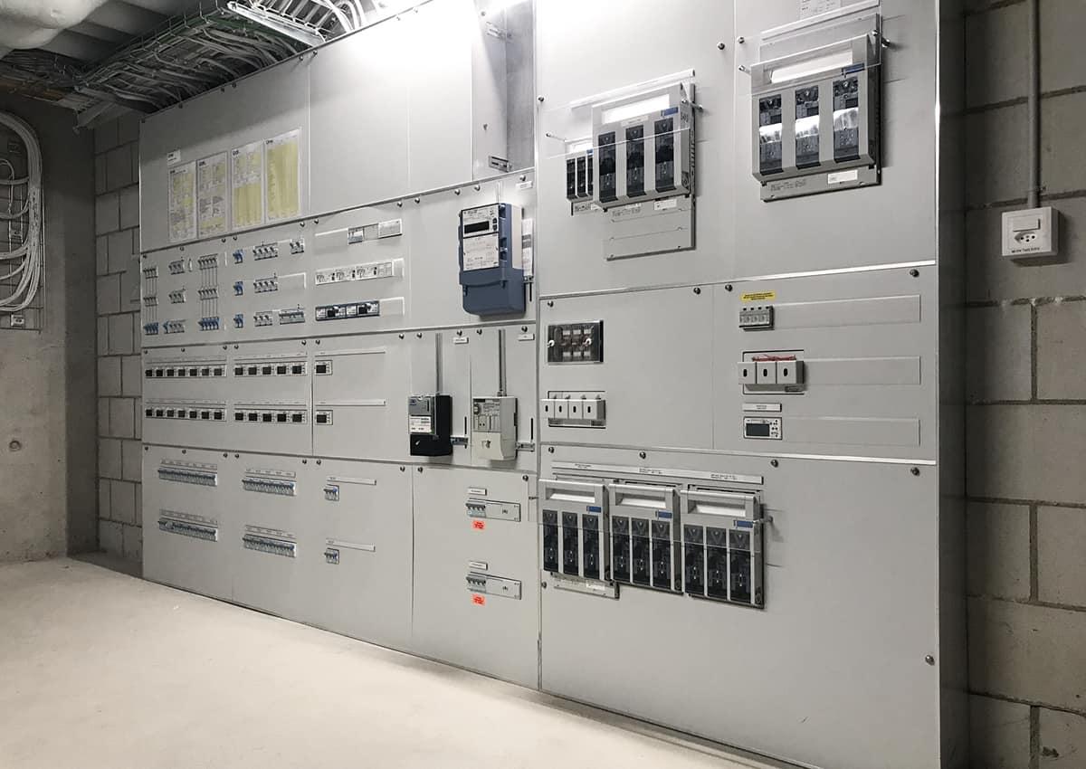 intelligente systemarchitektur elektroplanung energiemanagement energiemonitoring baugenossenschaft wohnwerk luzern elmaplan ag