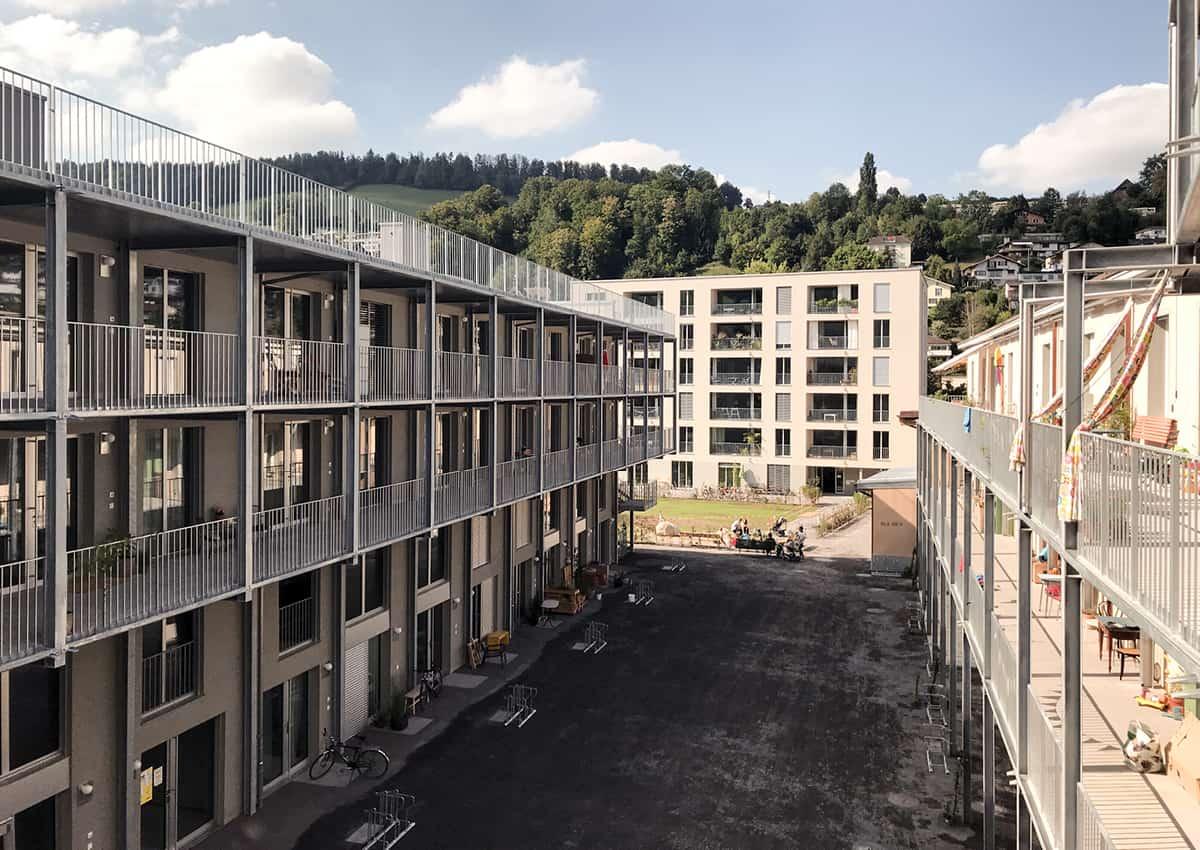 Intelligente Systemarchitektur Elektroplanung Leitsystem Facilitymanagement Baugenossenschaft Wohnwerk Luzern Teiggi Kriens elmaplan ag