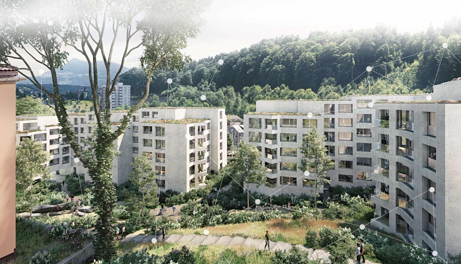 elektroplanung intelligente systemarchitektur abl bgm wohnueberbauung bernstrasse luzern forever young elmaplan ag