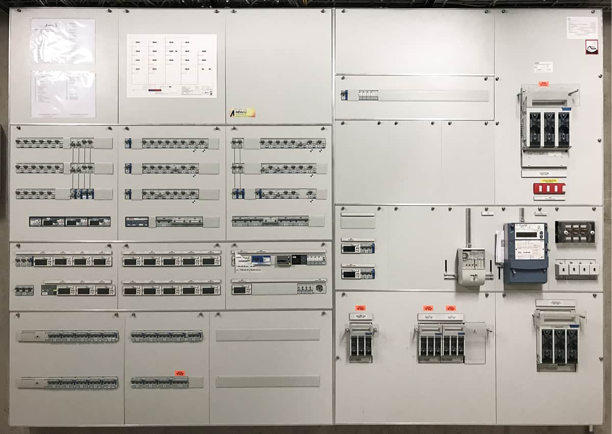 intelligente systemarchitektur pva zev energiemanagement lastmanagement e-mobilitiy lindaupark rothenburg elmaplan ag