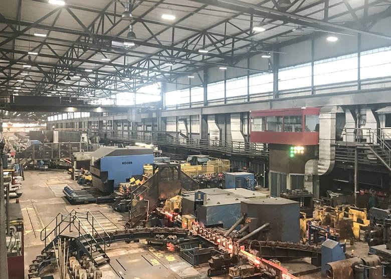 elektroplanung sanierung led beleuchtung gebauudeautomation energieeffizienz walzwerk swiss steel elmaplan ag