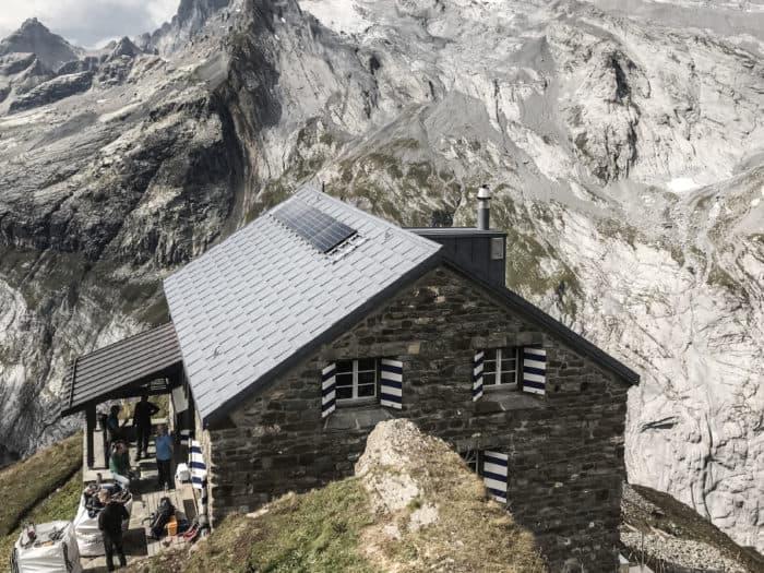 sanierung hüfihütte autarke sac clubhütte elektro schlusskontrolle inbetriebnahme