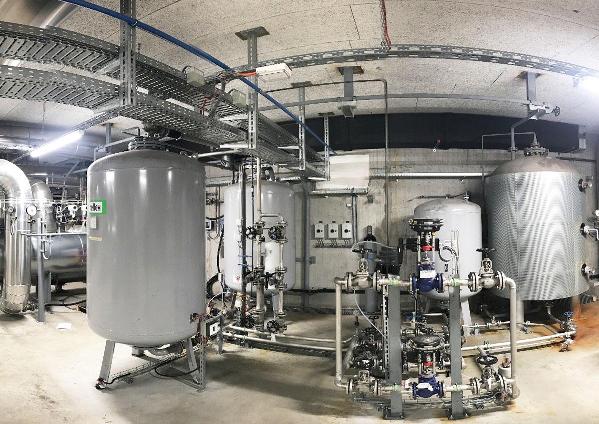 elektroingenieurarbeiten fachbauleitung beleuchtung gebaeudeautomation msrl sicherheitsstromversorgung swiss steel emmen elmaplan ag