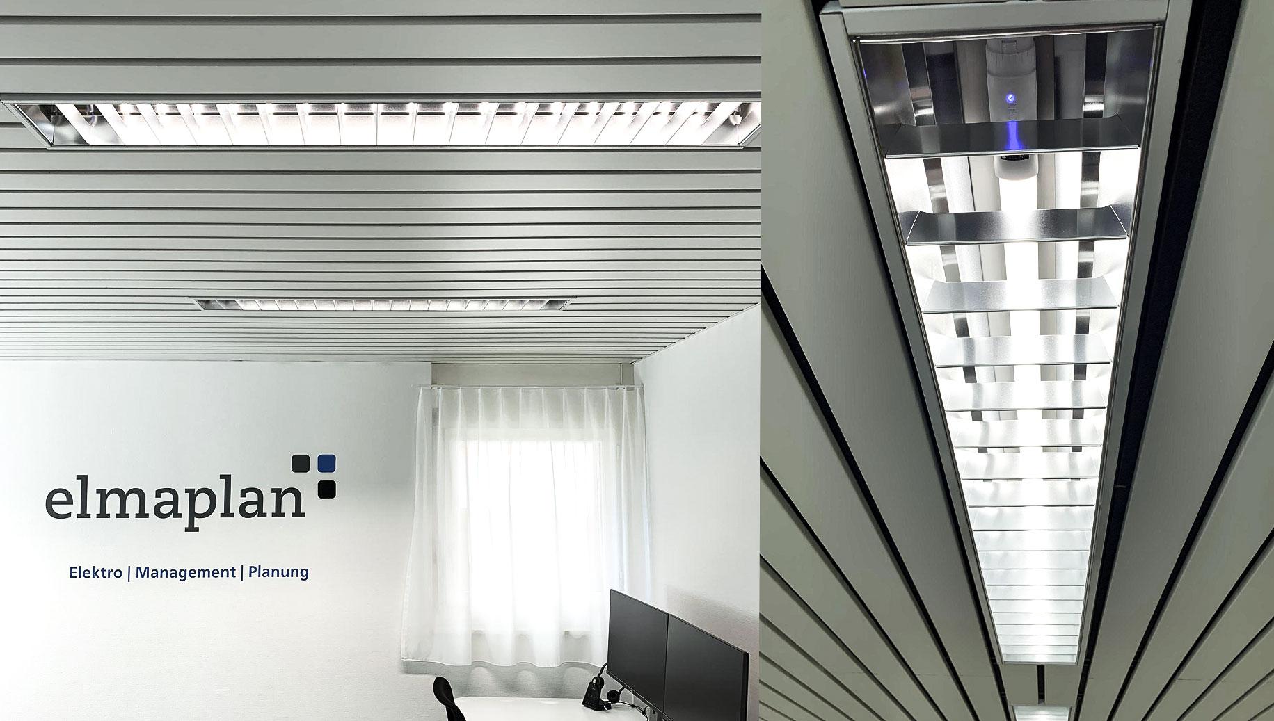 Weniger Energieverbrauch Dank Intelligentem Beleuchtungssystem, Elmaplan AG
