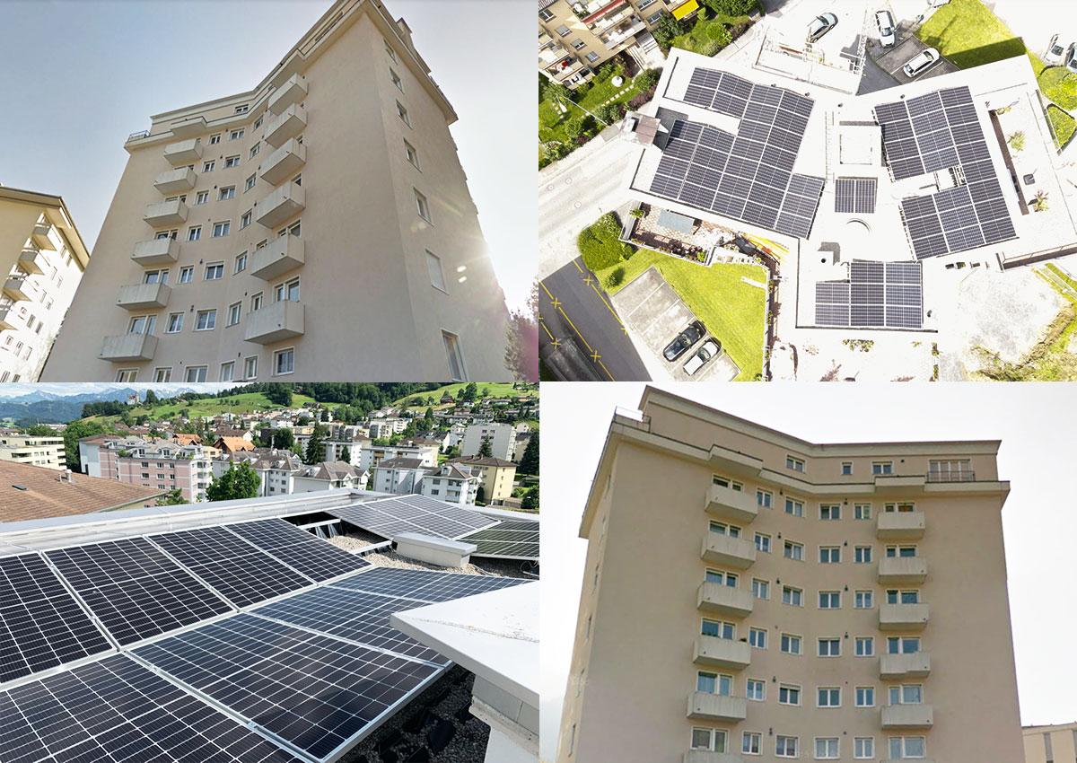 Eigenverbrauch Der Photovoltaikanlage Optimieren, MFH Kriens